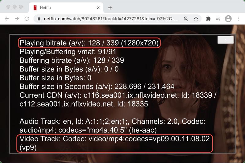 Netflix Queen's Gambit streaming on Chrome